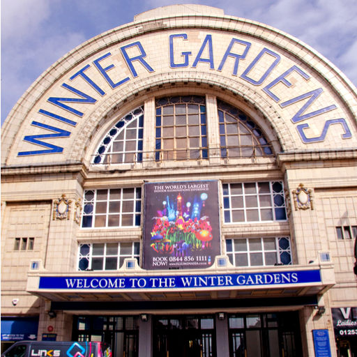 Winter Gardens Roof Repairs image by Paul J. Martin (via Shutterstock).