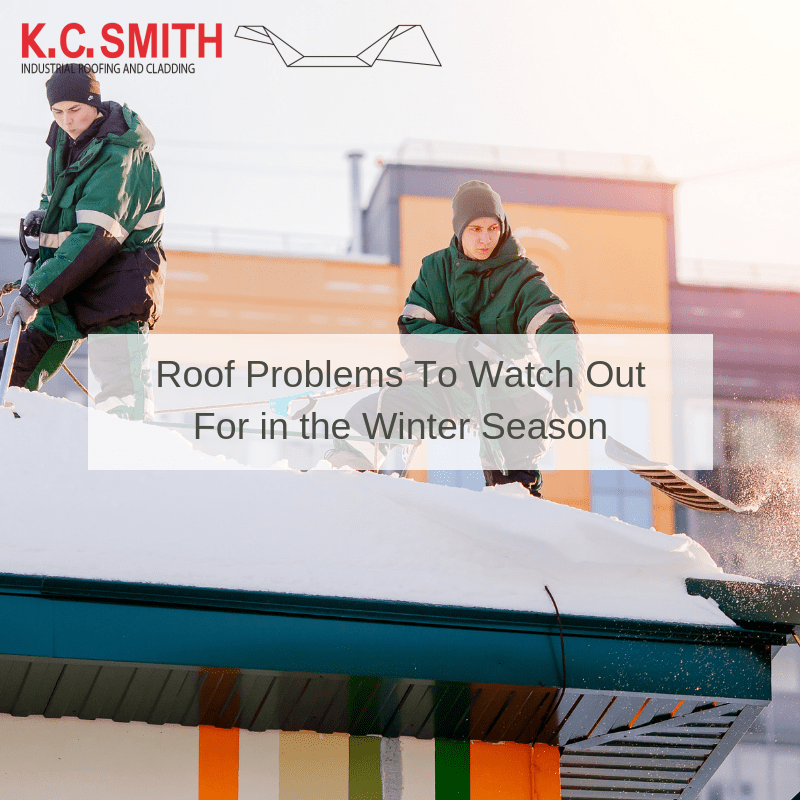 Roof Problems To Watch Out For in the Winter Season